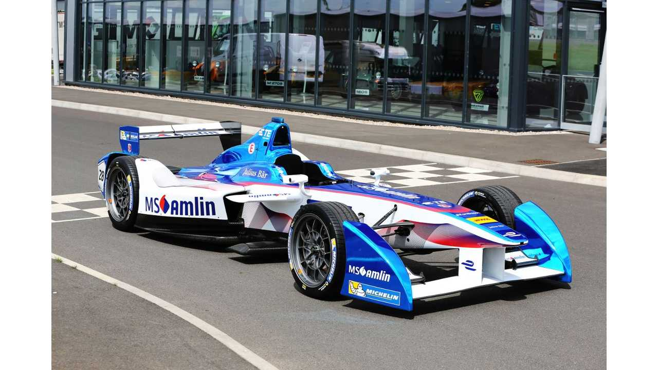 BMW Teams With Andretti Racing For Formula E Entry