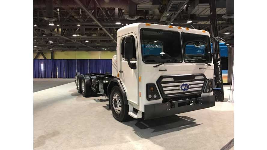 BYD To Open Electric Truck Assembly Plant In Canada