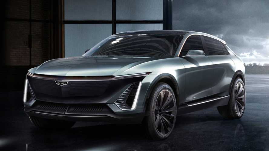 Cadillac Shows Off First Fully Electric Crossover On New EV Platform