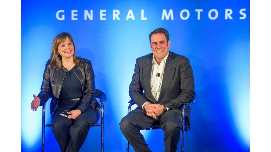 GM's Reuss: Believes Chevrolet Bolt Pricing Will Be Below $30,000 With Tax Breaks - Video