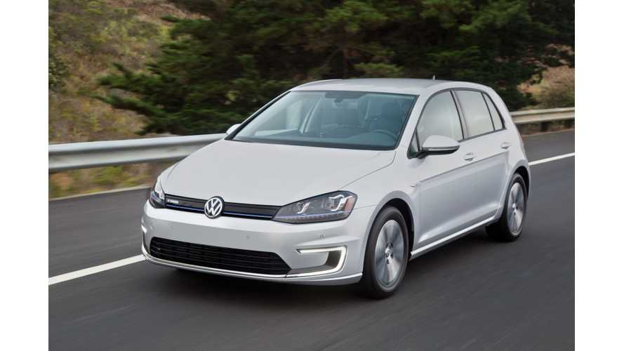 Next-Generation Volkswagen e-Golf To Get 186 Miles Of Real-World Range