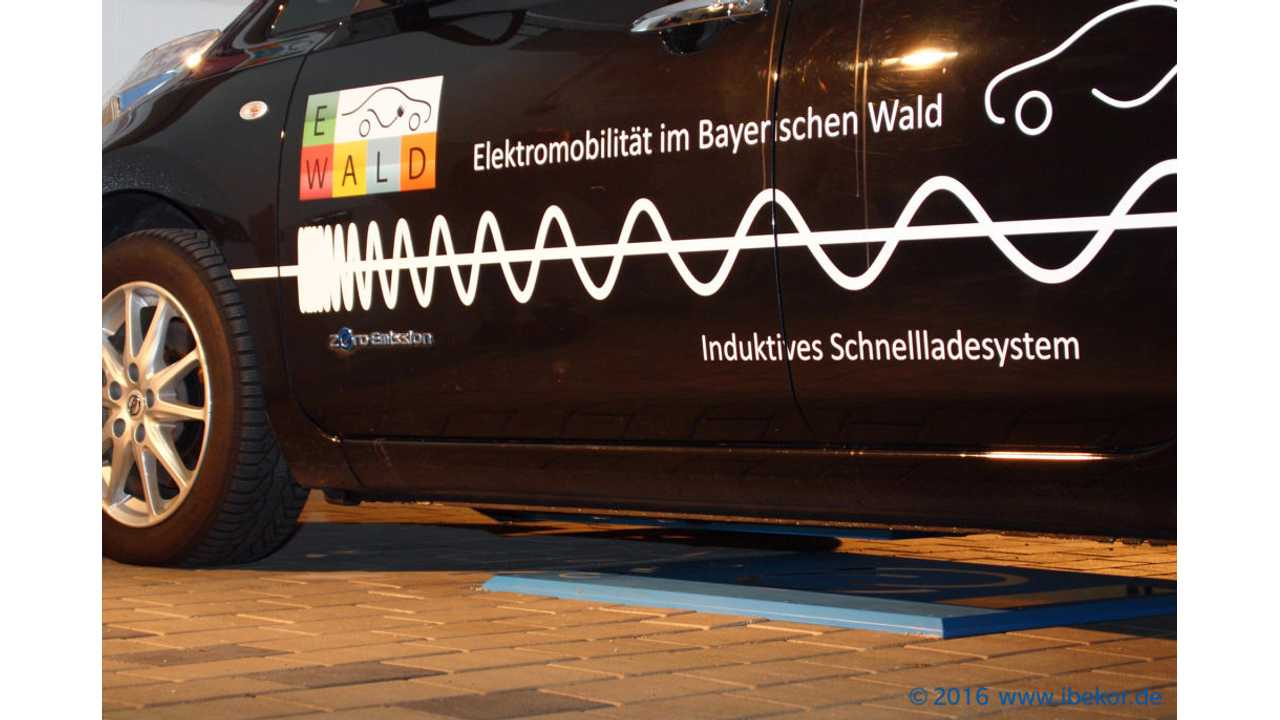 30kW inductive charging with CHAdeMO