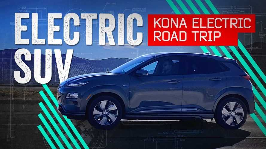 Hyundai Kona Electric Road Trip From Los Angeles To Las Vegas: Video