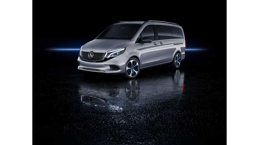 Mercedes-Benz Reveals EQV Long-Range Concept MPV