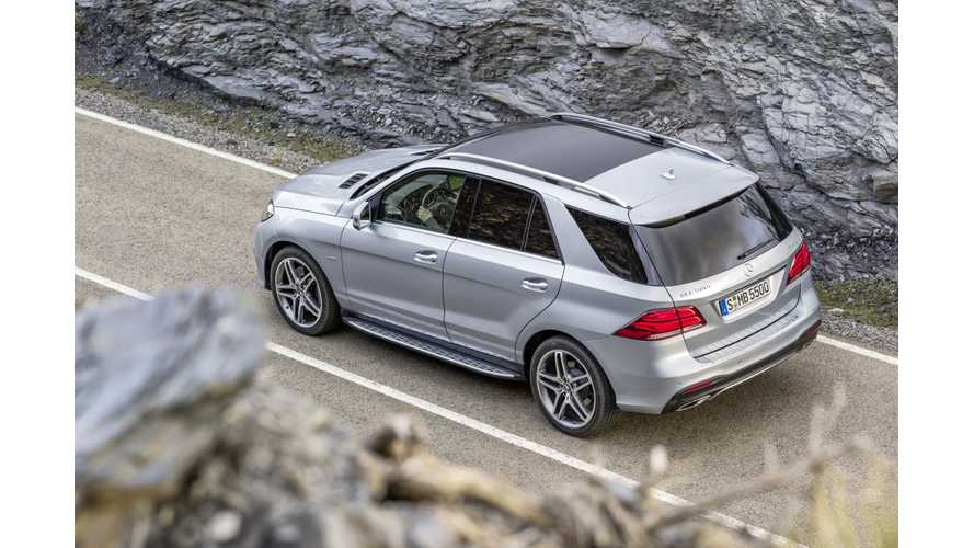 Mercedes-Benz GLE 550e 4MATIC Plug-In Hybrid On Sale This Fall