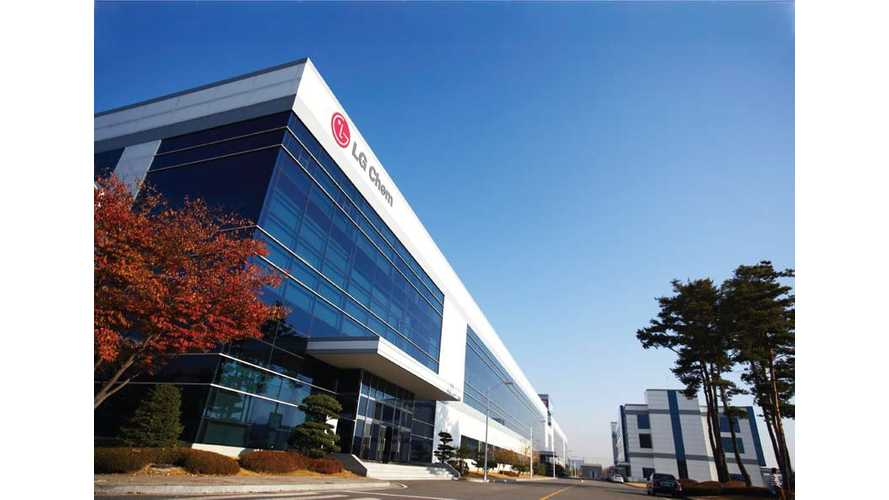 LG Chem To Become Operator Of U.S.' First Battery Gigafactory