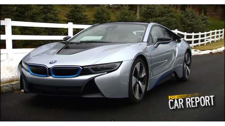 Fox News Reviews BMW i8 - Video