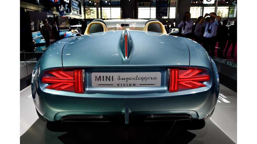 Mini Says Production Not Planned For Superleggera Or Rocketman