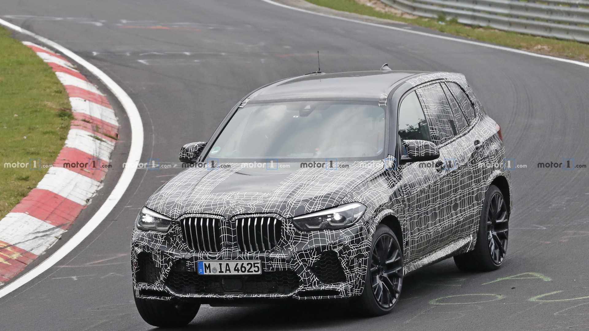 New Bmw X5 M Brings Its 600 Horses To The Nurburgring