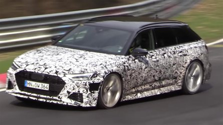 Audi RS6 Avant spied lapping the Nürburgring in anger