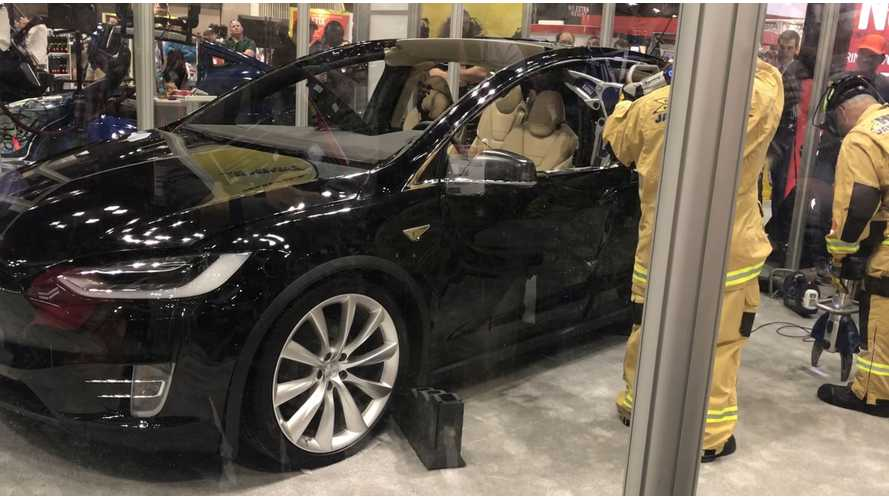 Tesla Model X Fire Required Huge Time Commitment From Authorities