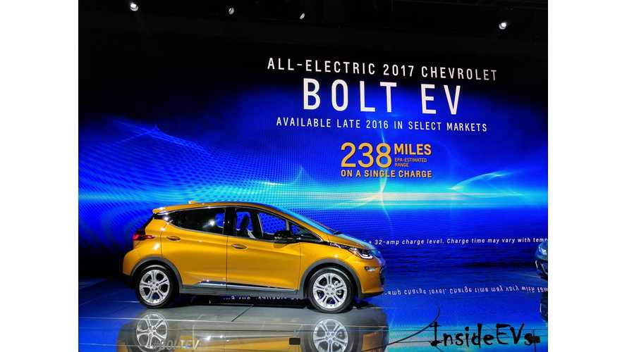 Chevrolet Bolt To Arrive In Mass Volume At Dealers The Week Of November 28