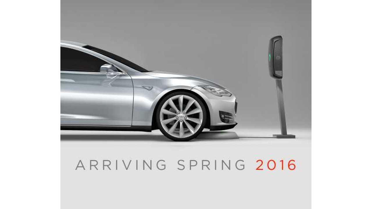 plugless wireless charging Tesla Model S