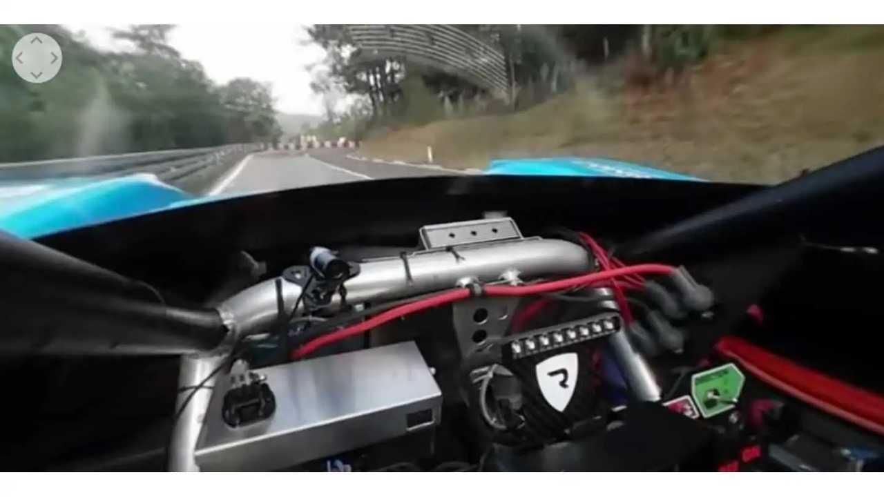 Tajima Rimac E-Runner Concept_One At Buzet - On-Board 360 Video