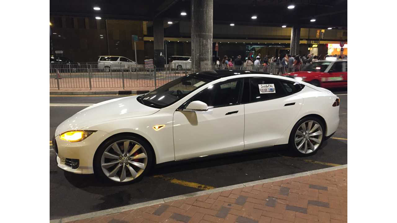 Tesla Model S In Hong Kong AutoPilot Test Drive Results