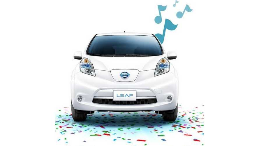 Nissan LEAF Celebrates 5th Birthday, 200,000 Sales - Video