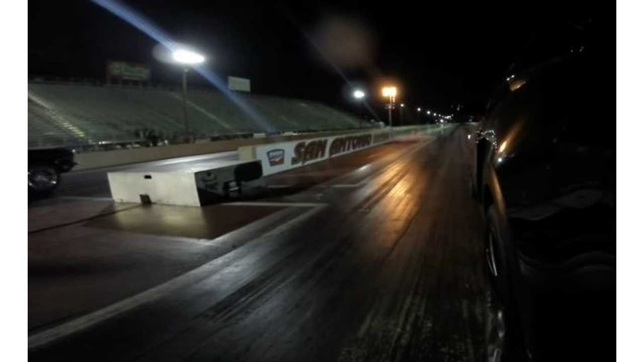Electric Ford Mustang Demolishes 2011 Shelby GT500 - Drag Race Video