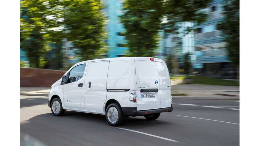 Nissan Advertises e-NV200 In Germany By Presenting Feedback From Companies