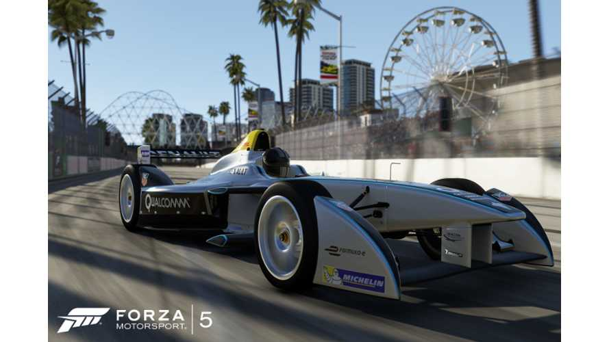 Formula E In Forza 5 - Videos + Images