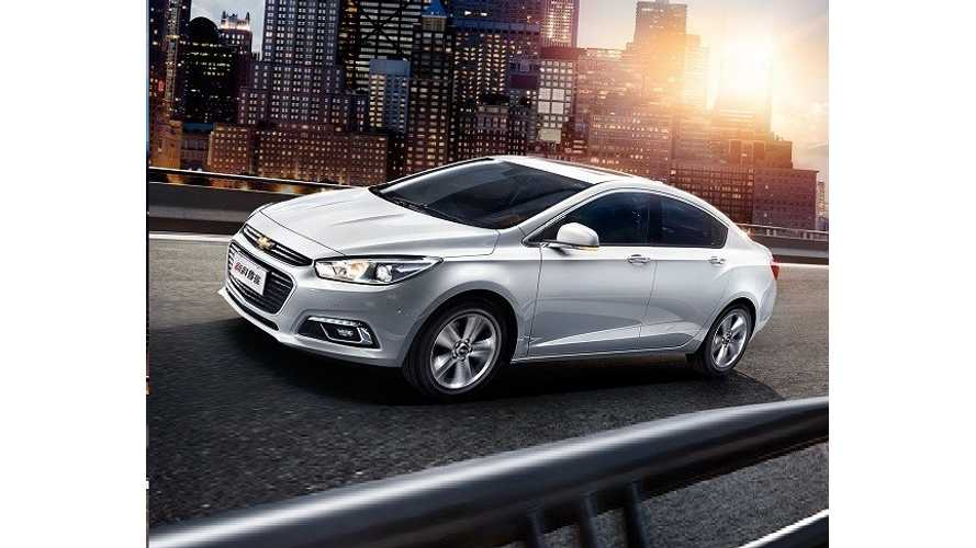 All-New Chevrolet Cruze Launch In China Foreshadows 2nd Gen Volt
