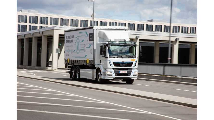 MAN Reveals Electric eTGM Truck At IAA