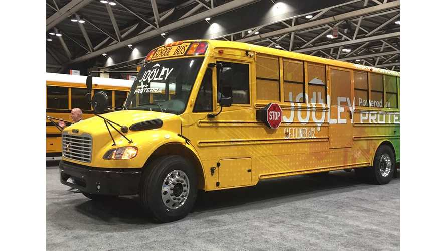 Proterra Teams With Thomas Built For Electric Schools Buses