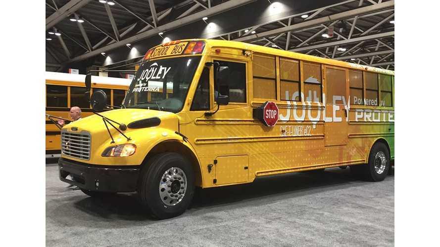На Аляске появился первый школьный электробус