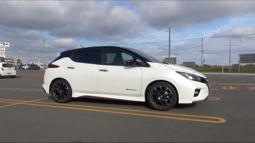 Check Out The Nissan LEAF NISMO Inside & Out