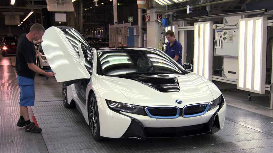 BMW i8 Assembly - Video