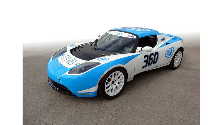 eO Returns To Pikes Peak With Customized Tesla Roadster (w/video)