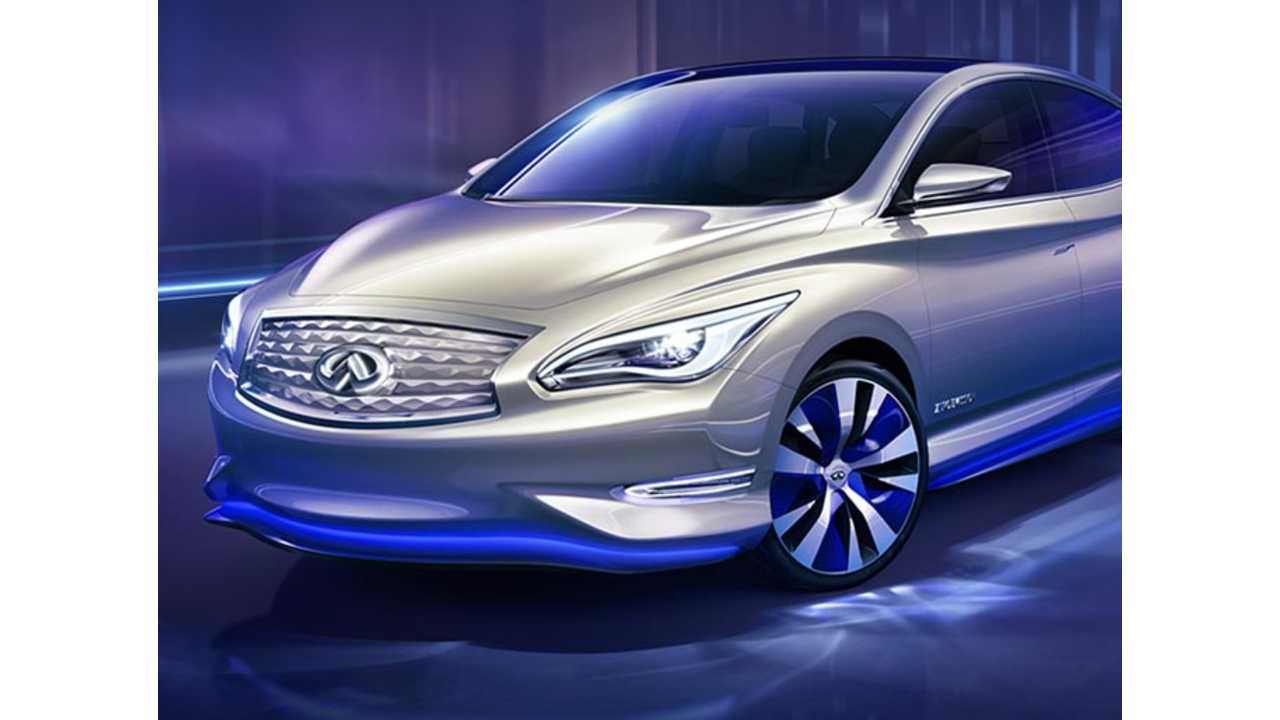 All Electric Infiniti LE Back On Production Radar - But Just Barely