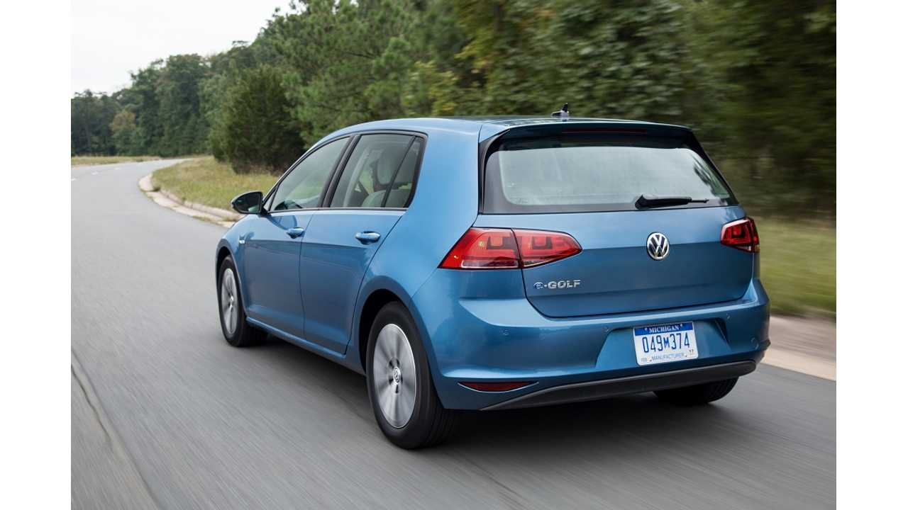 Volkswagen e-Golf Video Review