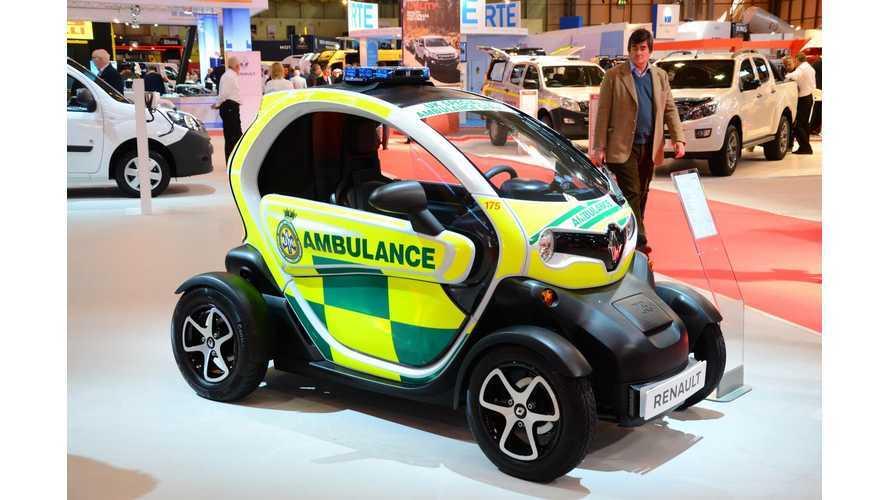 Renault Twizy Cargo Ambulance Unveiled