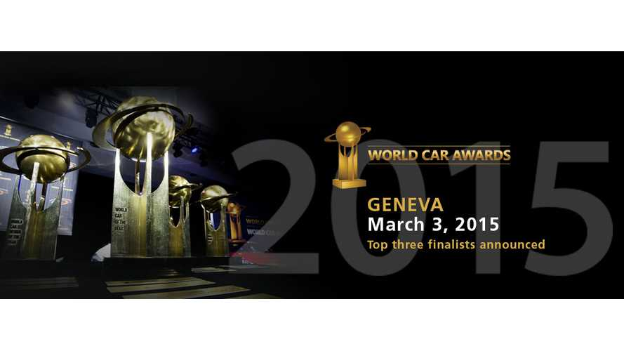 World Green Car Finalists Announced
