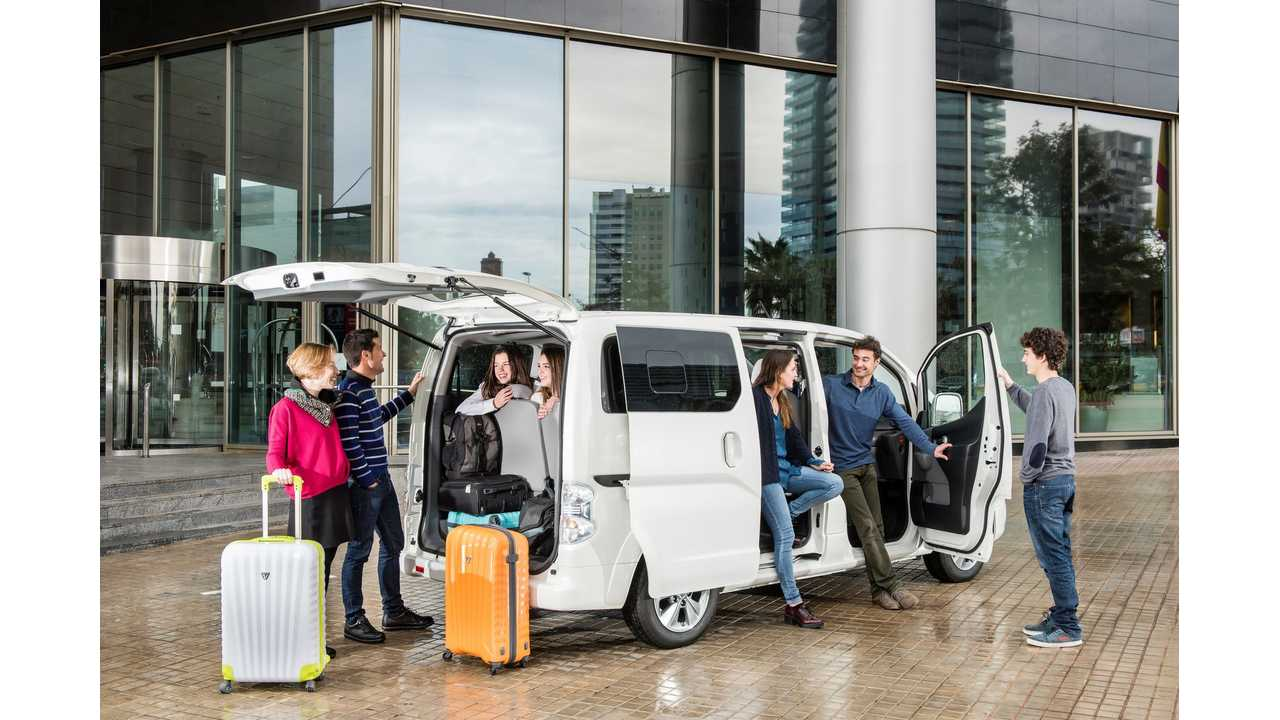 Nissan Launches 7-Seat e-NV200 In UK From £23,400