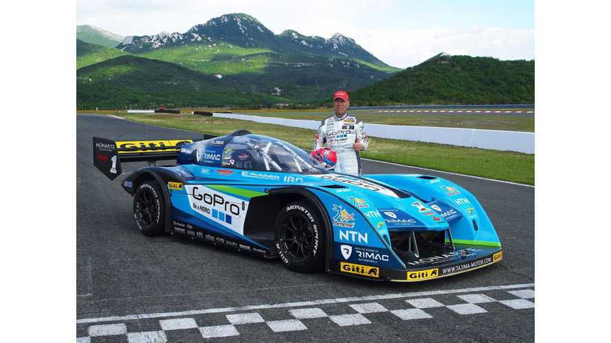 Rimac & Monster Tajima Reveal 1,475 HP Pikes Peak Racer