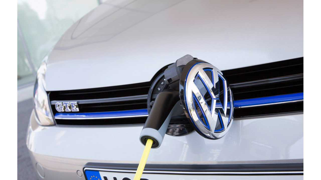 Volkswagen Group Announces Goal Of 20 Additional Plug-In Electric Cars By 2020