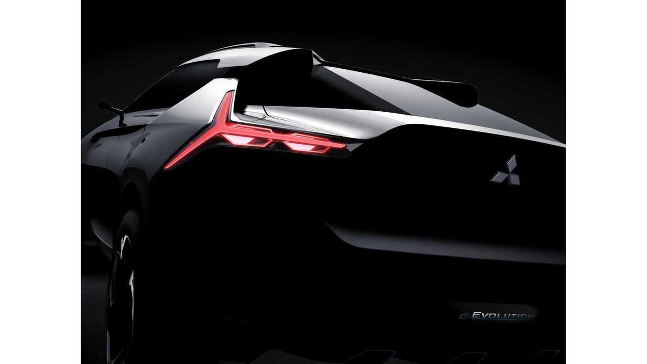 Mitsubishi e-EVOLUTION Concept To Electrify Tokyo Motor Show