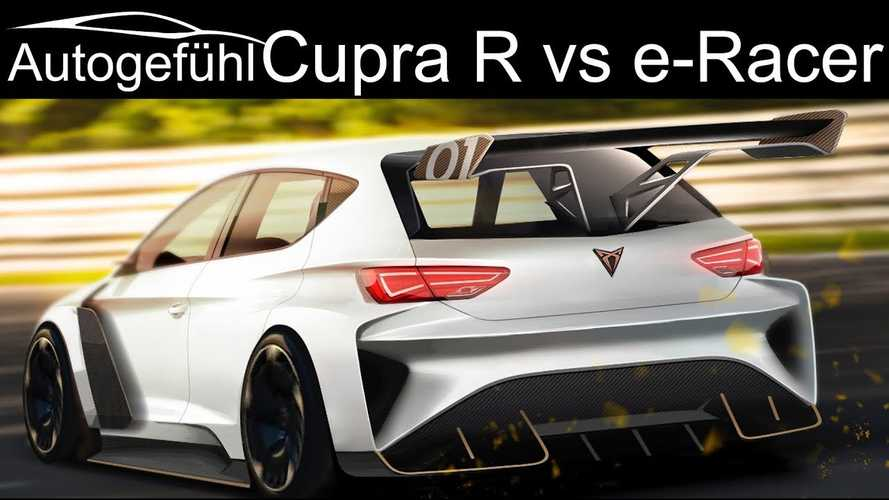 SEAT Confirms E TCR Racing Series Intention With CUPRA e-Racer