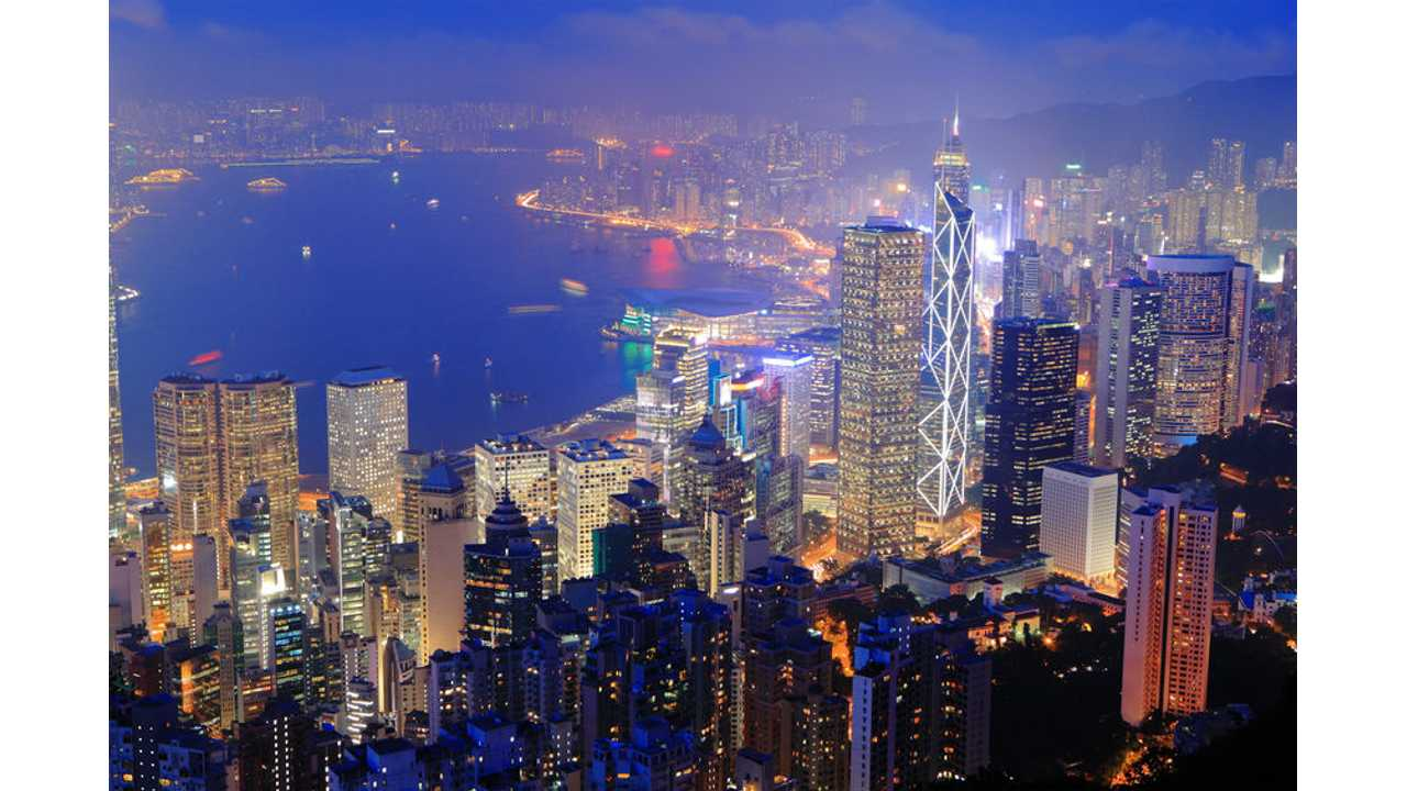 Hong Kong Gets New Massive Tesla Charging Station