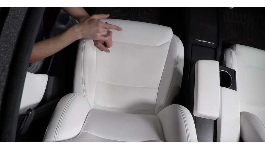 Wonder How Tesla's Ultra White Seats Hold Up After 25,000 Miles?