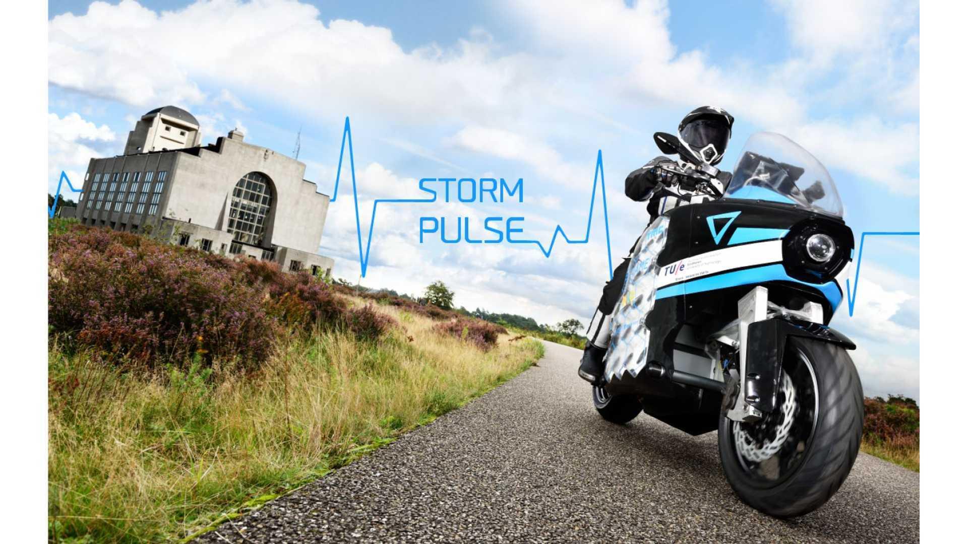 Meet The Long-Range Storm Pulse Electric Motorcycle