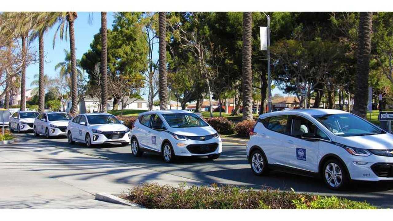 Chula Vista Unveils Electric Fleet - 12 Hyundai IONIQs, 3 Bolts