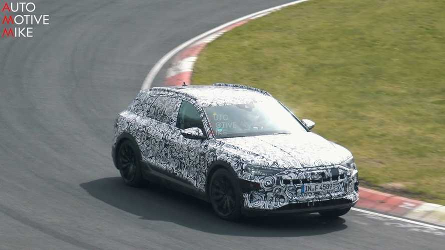 Watch Audi E-Tron Caught Lapping Nurburgring