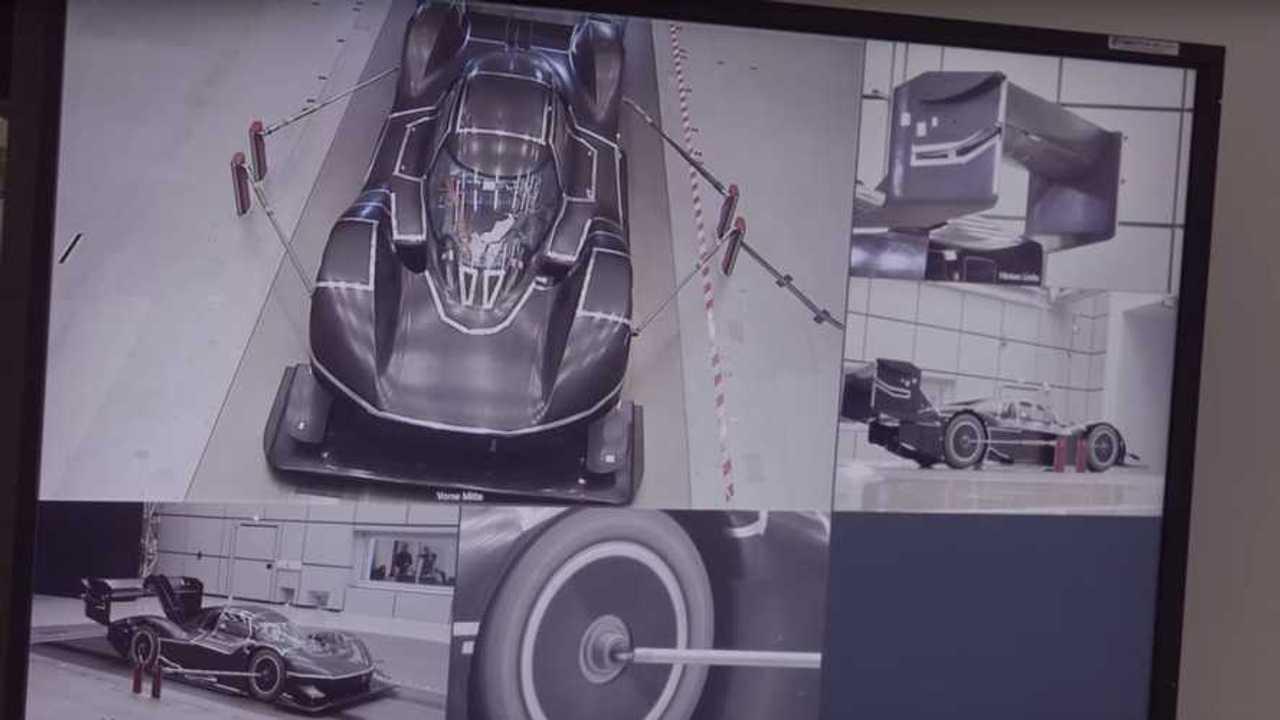 See Volkswagen I.D. R Pikes Peak Racer Cut Through The Air