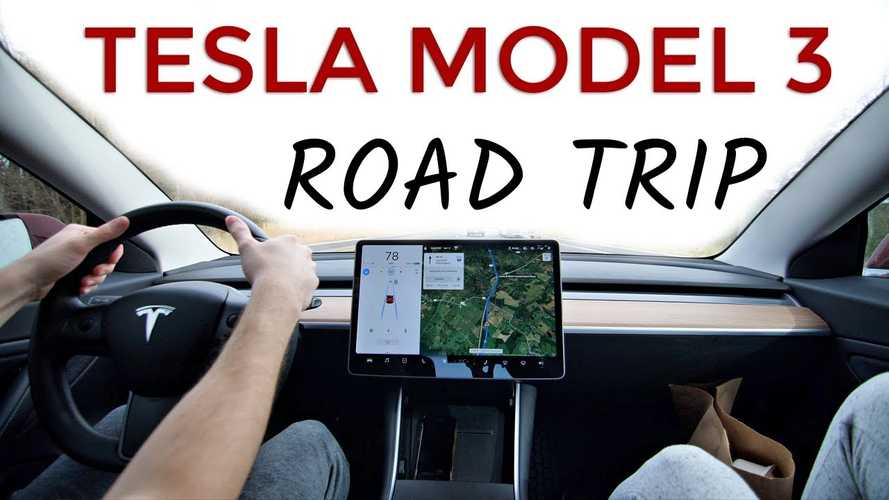 Tesla Model 3 1,000-Mile Road Trip: Total Charging Time And Cost