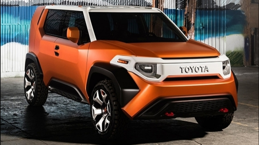 Toyota FT-4X Concept, il futuro dell'offroad promette bene [VIDEO]