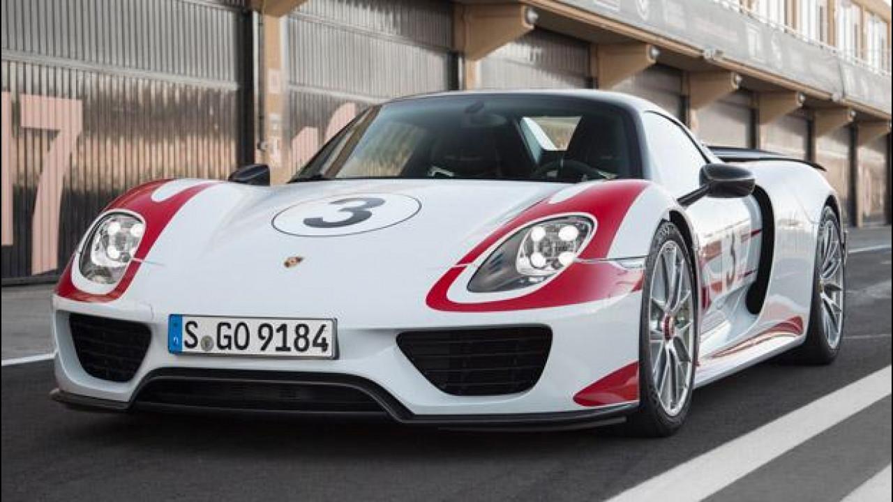 [Copertina] - Porsche 918 Spyder, prezzi e optional da capogiro
