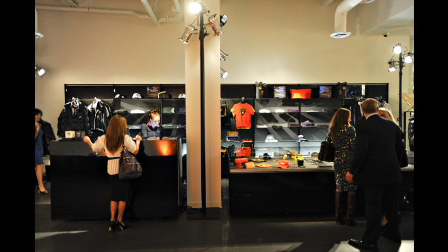 Aperta a Los Angeles la nuova boutique Lamborghini
