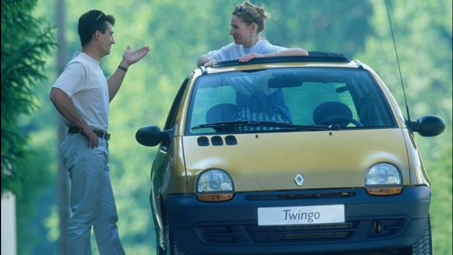 Renault Twingo, la piccola ranocchia
